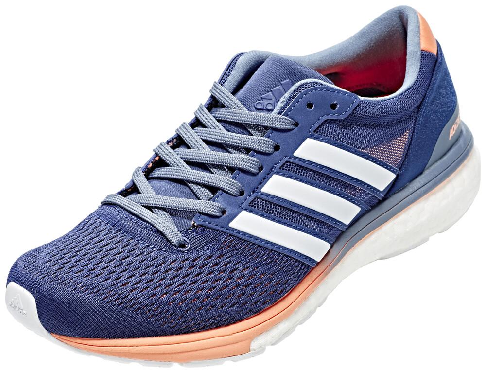 adidas AdiZero Boston 6 Shoes Women noble indigo/ftwr white/raw steel UK 7,5